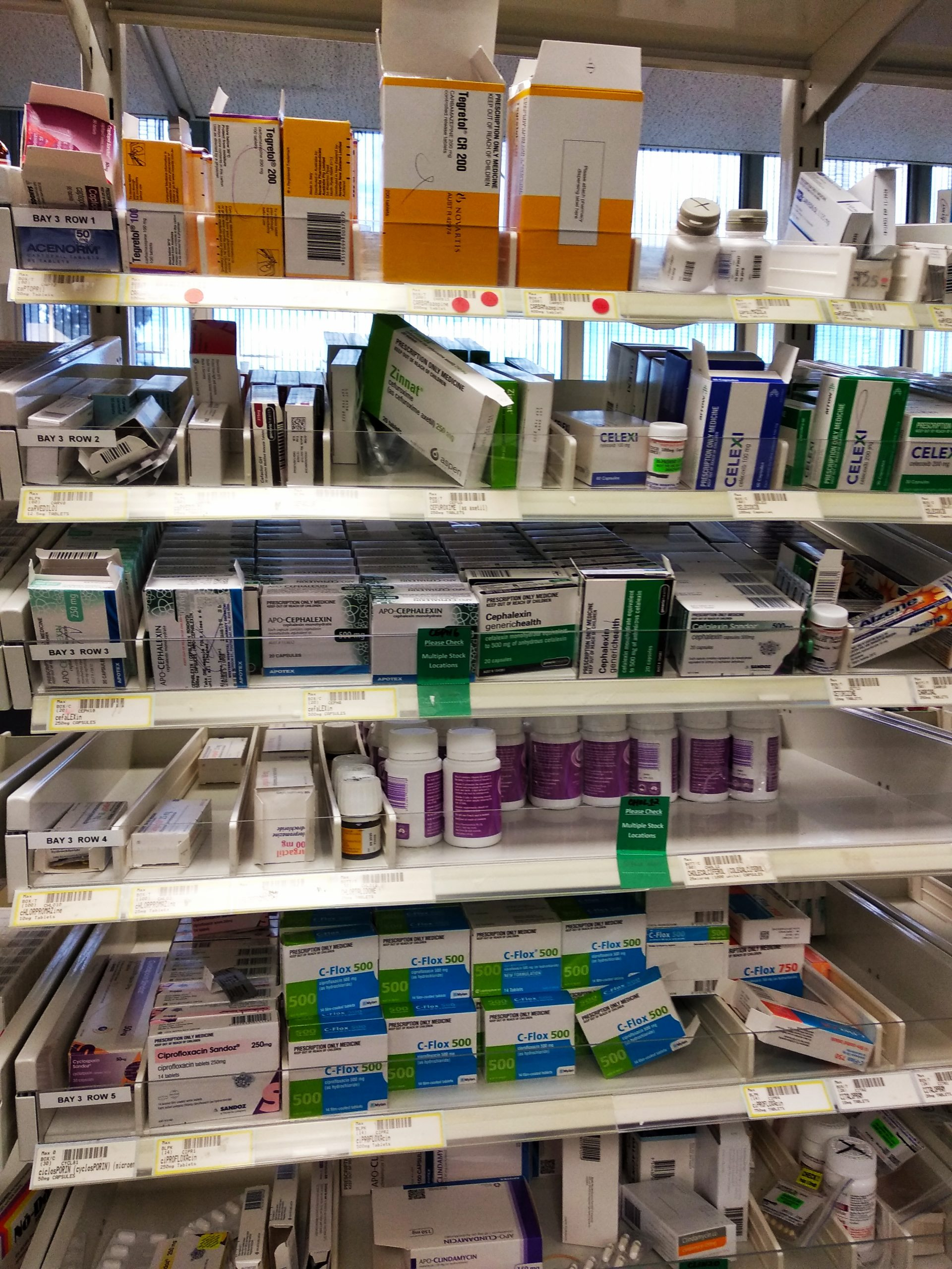 Tablets-on-pharmacy-shelves